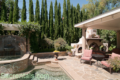 Covered Dining Patio And Pool / Spa View