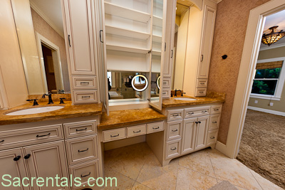 Custom Bathroom Vanities With Makeup Area bathroom vanity with makeup counter.bathroom single sink vanity