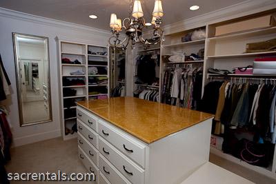 High Quality Exceptional Master Suite Walk In Custom Closet Center Island Storage