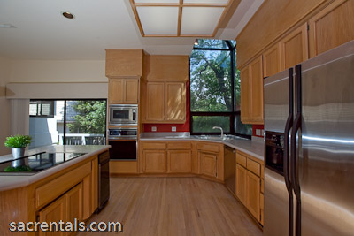 Mezzanine Level Bonus Space Lounge Overlooking The Living Room Adjoining Kitchen And Dining
